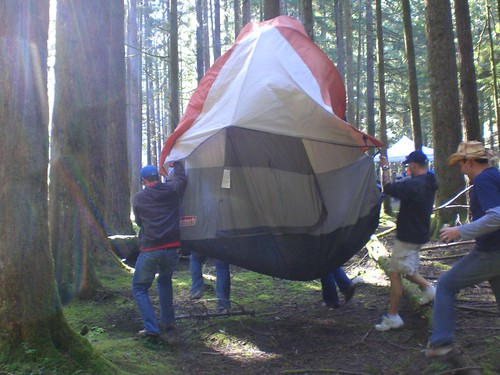 Moving the Tent