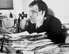 Mayor Fiorello La Guardia in his City Hall office, circa 1940. (La Guardia and Wagner Archives) Tags: laguardia fiorellolaguardia fiorello thelittleflower mayorlaguardia