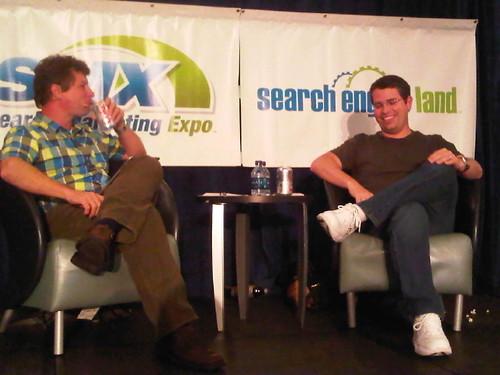 Danny Sullivan and Matt Cutts