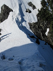The cornice off the notch.