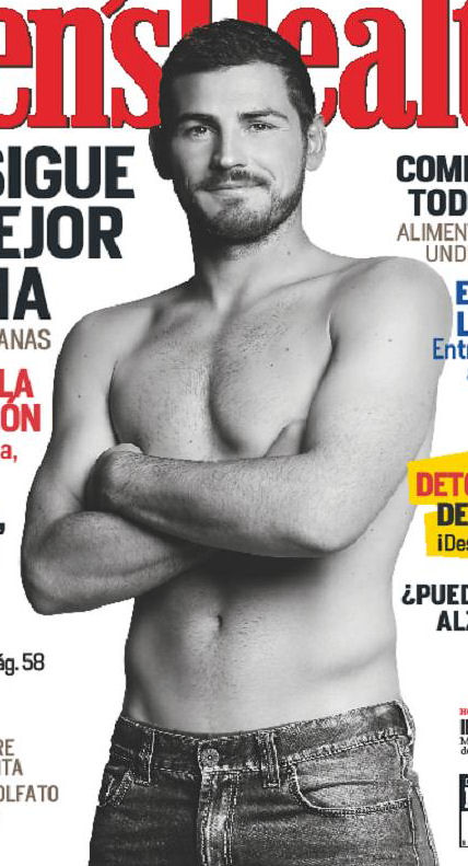 Iker Casillas shirtless