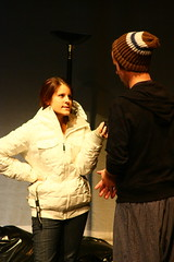 IMG_4965 (Christian Cragun) Tags: black club student theater experimental mask theatre box maine almost relationships vignette produced directed