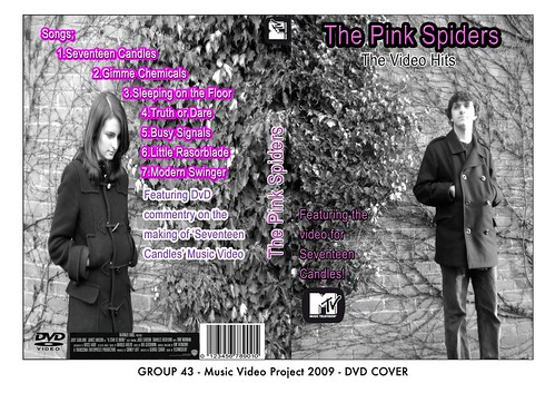 GROUP 43 Music DVD Cover