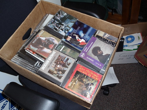 Donation of Music CDs