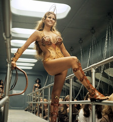 Raquel Welch: Priestess of the Whip (The Pie Shops Collection) Tags: 1969 beautiful fashion vintage raquelwelch actress whip 1960s priestess