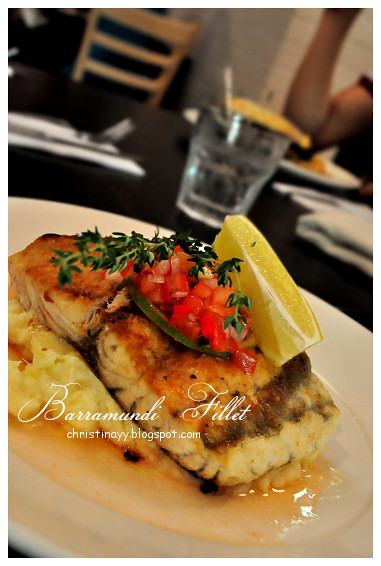 Kitt's Farewell Dinner: Barramundi Fillet