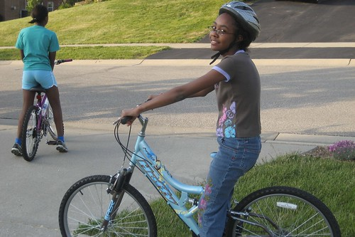 Kayla's New Bike