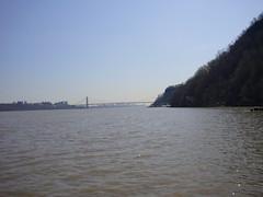 Hudson River (avaupel) Tags: hiking georgewashingtonbridge palisades