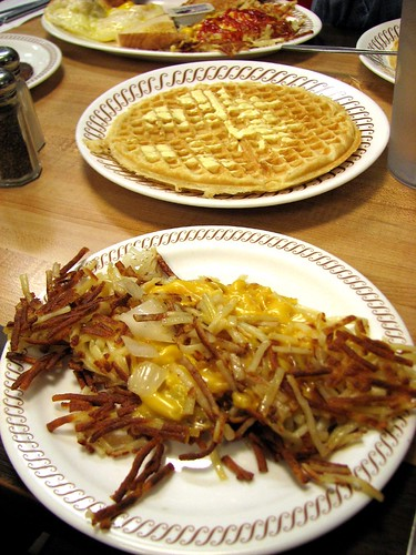 First Waffle House- Scattered, Smothered, and Covered