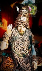 The mala baba, Allahabad. India 2007 (fredcan) Tags: travel india festival religion sadhu holyman allahabad kumbhmela hiduism