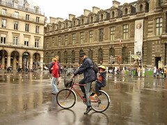 cyclistes Palais Royal