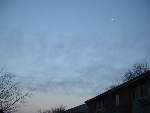 landscape: ...and the moon