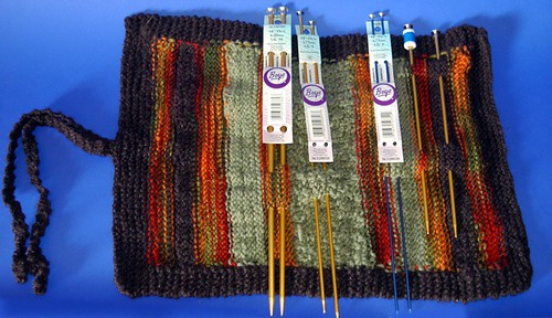 Knitting Needle Roll Pattern : Ravelry: Knitting Needle Roll pattern by Linda D. Shoup