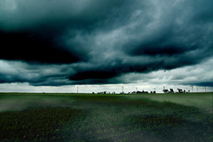 Ethereal Horizon (HumanHead) Tags: storm windmill architecture clouds dark landscape energy moody power