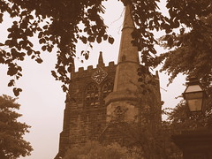 Ormskirk Parish Church 1 (andy_sunley) Tags: tower church lancashire steeple oldcity ormskirk