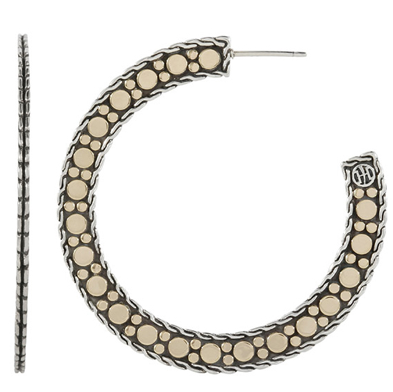 John Hardy Nuansa hoop earrings