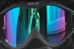 Brille (te-ply) Tags: street mountainbike downhill lila dirt brille blau motocross spiegelbild progrip
