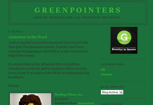 Greenpointers