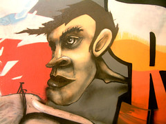 Character (Fat Heat .hu) Tags: wall graffiti 3d paint character heat cfs coloredeffects fatheat