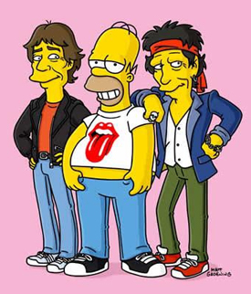 RollingStones Simpsons