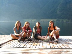 Bohinj, de vier (qahwa) Tags: slovenië zomer2006