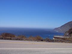 Vista Point (astrangegirl) Tags: ocean road blue michael pch pacificocean pacificcoasthighway