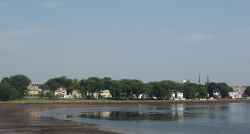 View of Charlottetown from Victoria Park