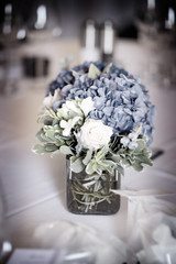 wedding flowers (AngelaSadler) Tags: angela sadler flowers bouquets wedding weddings weddingflowers weddingbouquets nashville arrangements reception weddingreception florist floral bouquet roses hydrangea blue tablesetting placesetting tableset setup catered catering