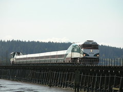 Amtrak Cascades Mud Bay Surrey BC 08-04-2005 1...