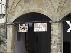 Montalcino (snia) Tags: capa montalcino castiglionedellapescaia capannelle agosto2007 maluchiffaritime iosonoantifascista noaitagligelmini noalmaestrounico