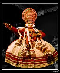 Kathakali (saternal) Tags: kathi palakkad kathakali saternal
