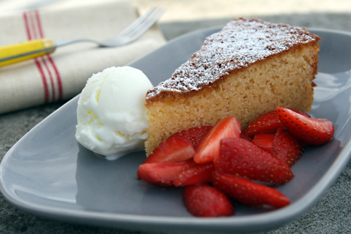 Almond Cake - David Lebovitz