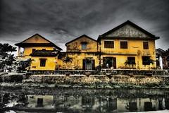 nhà phố xưa - HDR