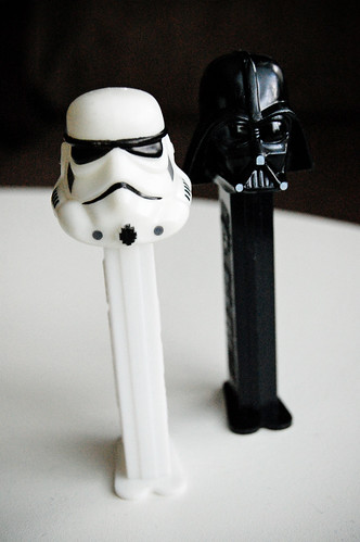 Darth and Trooper Pez