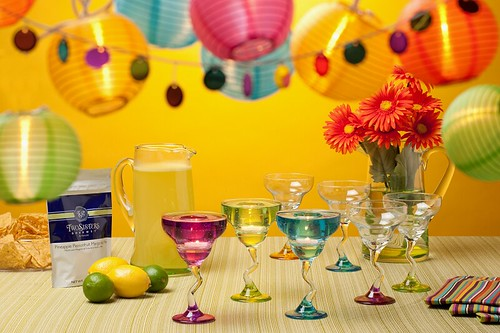 A Nut in a Nutshell,PartyLite,margarita set