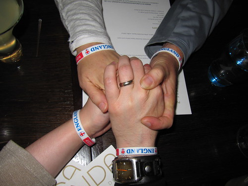 england wrist bands