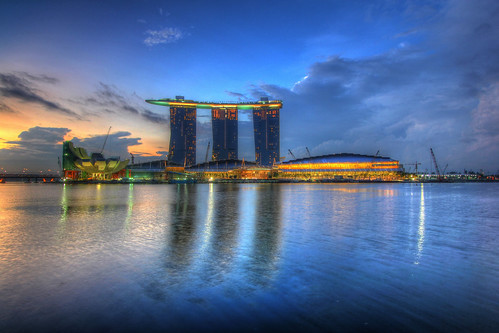 Marina Bay Sands Sunrise, Singapore