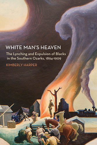 Cover to White Man's Heaven by Kimberly Harper