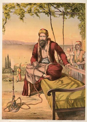 006-Mercader judio en Turquia-The oriental álbum 1862- J.H. Van Lennep