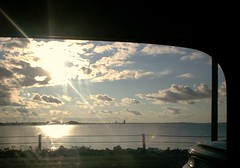 I'll understand it's true (kellytwoshoes) Tags: light sun window its true car clouds scene understand