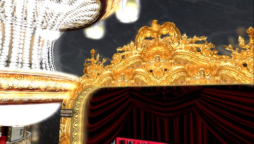 the rose theatre gold gilt