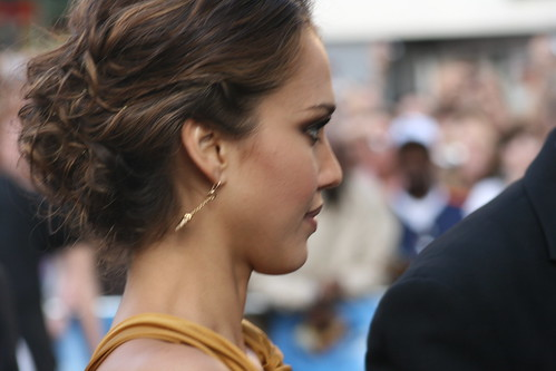 jessica alba fantastic four hair. Fantastic Four Premiere