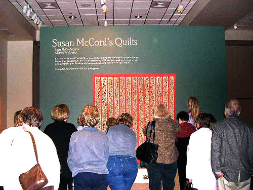 Entrance to Susan McCord's Quilts