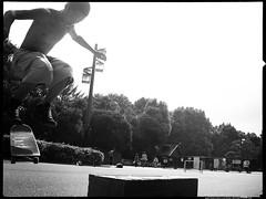 Air-Gliding (Danz in Tokyo) Tags: people blackandwhite bw japan japanese tokyo asia candid monotone 日本 nippon 東京 skater fz30 nozoom realpeople danz danzintokyo candidandnozoom realtokyo tokyocandid