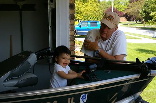 Rachel and Grandpa