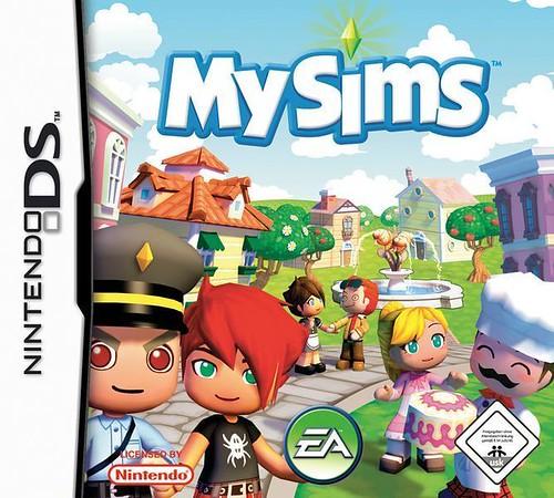 jogo My Sims para a Nintendo DS tens de construir uma frase com My