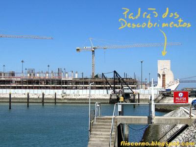 Doca do Bom Sucesso, obras do Porto de Lisboa