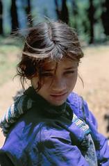 finalmente (zafassa) Tags: blue portrait india girl shy international uttaranchal campaign 50millionmissing