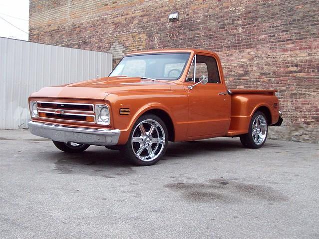 chevrolet pickup 1968 c10