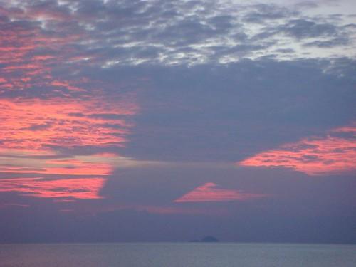 Tioman Island sunset. La vie douce!